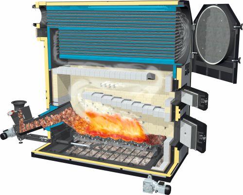 Lambdamat Biomass Boiler