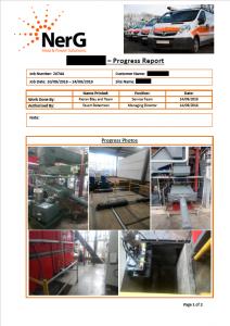 Service report 4