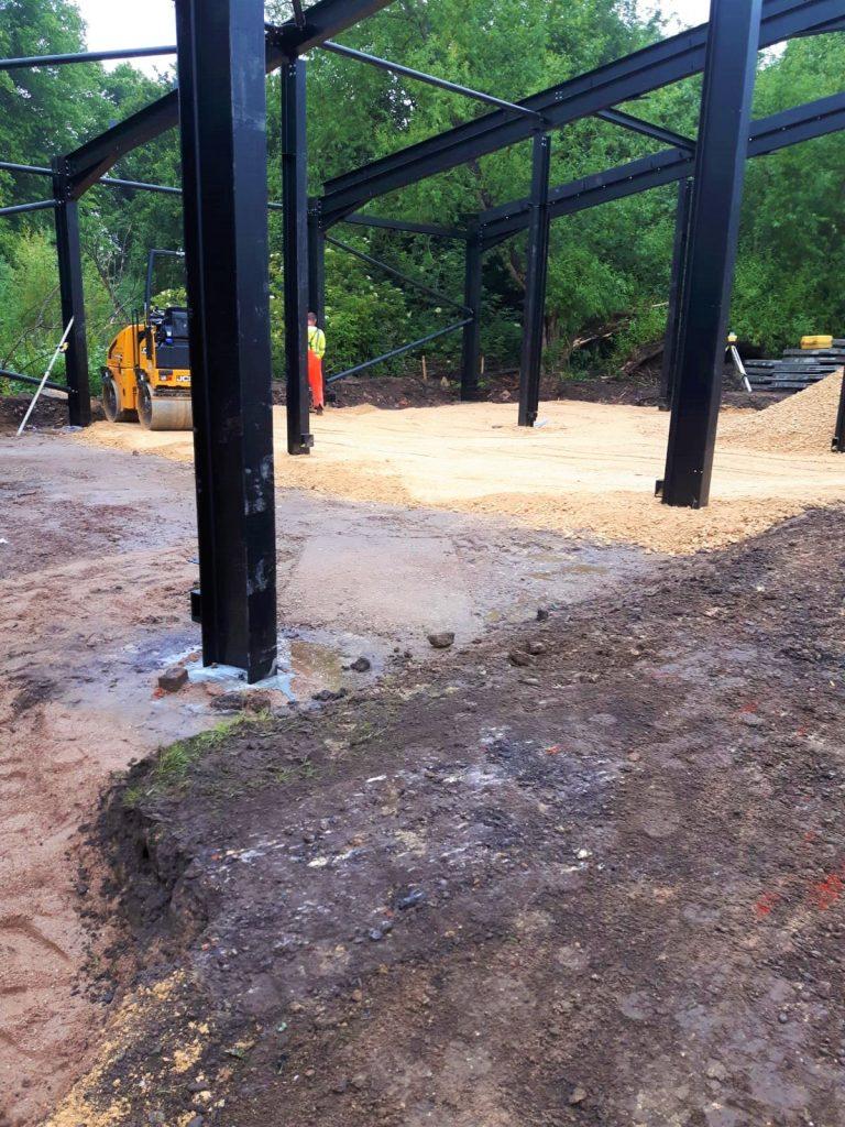 Biomass building - base