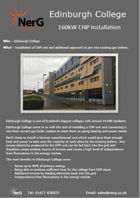Edinburgh College case study