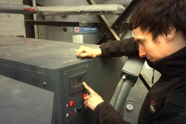 Arikazan biomass boiler servicing